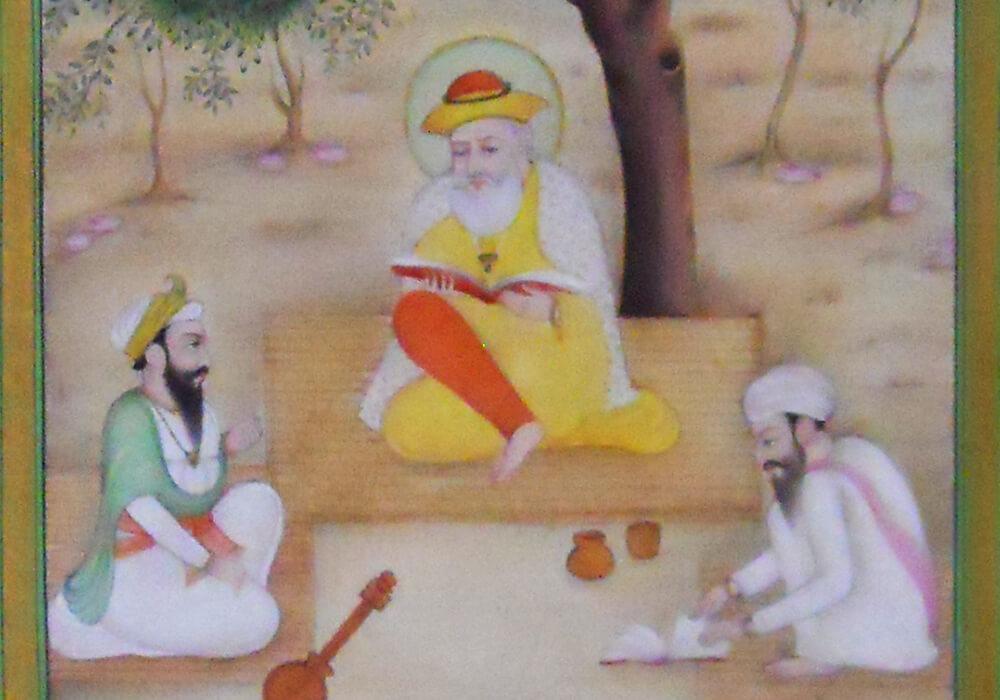 Guru Nanak Dev Painting